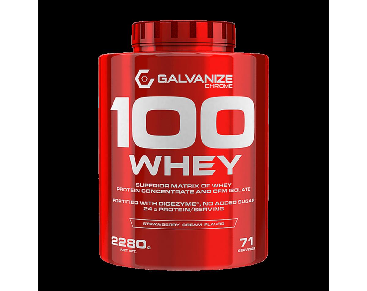 Galvanize Nutrition Chrome 100 Whey 2280g