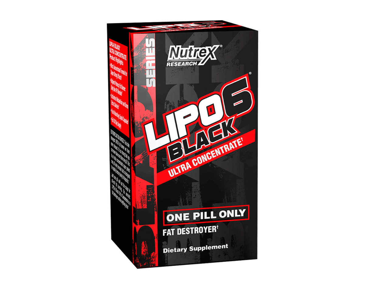 Nutrex Lipo-6 Black Ultra Concentrate 60 Caps.